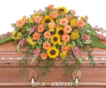 SUNSHINE GLORY CASKET SPRAY