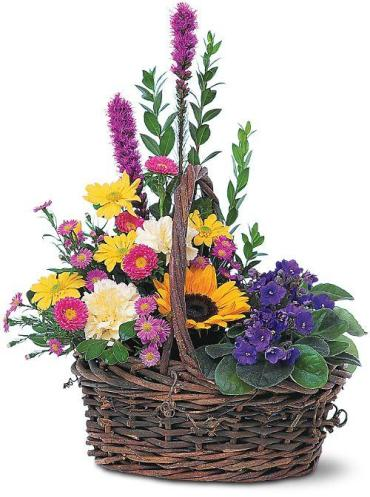 BASKET OF GLORY FOR SYMPATHY