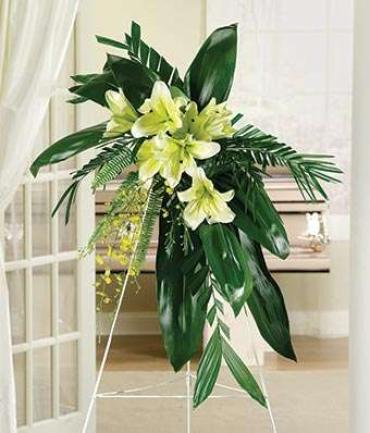 ELEGANT AND GRACEFUL LILIES FOR FUNERAL