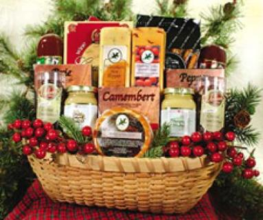 NORTHWOODS BOUNTY BASKET For Sympathy