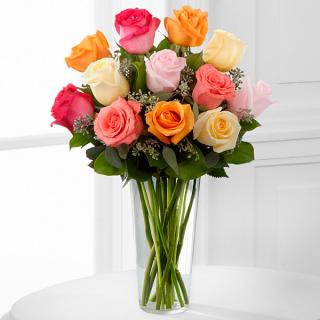 The Graceful Grandeur™ Rose Bouquet For Sympathy