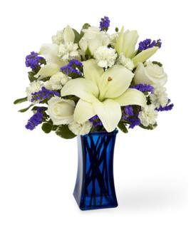 BEYOND BLUE SYMPATHY BOUQUET