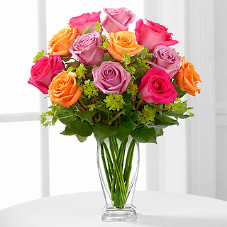 The Pure Enchantment™ Rose Bouquet For Sympathy