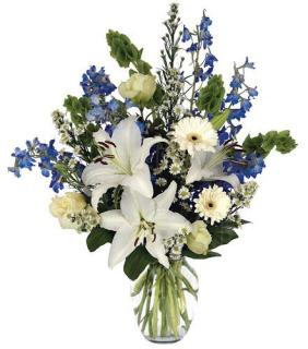 GARDEN DELIGHT SYMPATHY BOUQUET