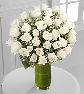 "Clarity Luxury 48 Rose Bouquet - 24"" Premium Long-Stem Roses"